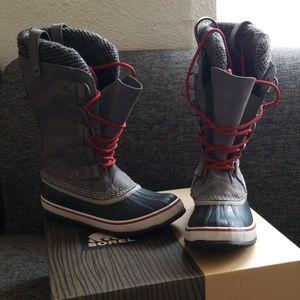 Sorel Joan Of Artic Knit Boots for Women Sz 7